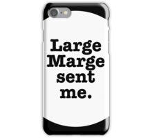 """Pee Wee Herman """"Large Marge Sent Me"""" iPhone Case/Skin"""