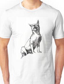 Dingo - ink drawing Unisex T-Shirt