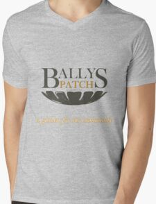Bally's Patch: a garden for our community Mens V-Neck T-Shirt