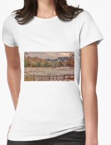 Winter in the Dales Womens Fitted T-Shirt
