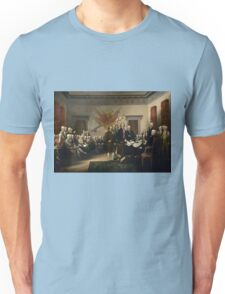 Signing The Declaration Of Independence  Unisex T-Shirt