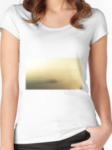 Sea Swimming Summer Women's Fitted Scoop T-Shirt