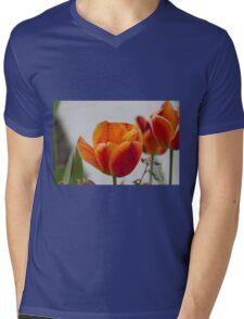 tulip in spring Mens V-Neck T-Shirt