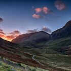 Dawn Light in Glencoe by Wendi Donaldson Laird
