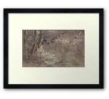 Bark, After McCubbin 1 Framed Print