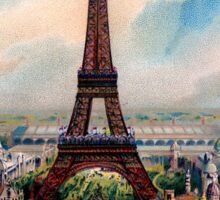 J'aime Paris (I Love Paris) Eiffle Tower Sticker