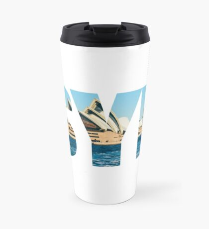 Sydney Opera House Design Travel Mug