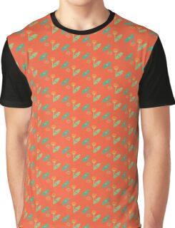 Red Dandelions Graphic T-Shirt