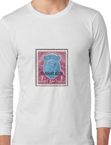 Bahrain 5 Rupees 1933 Long Sleeve T-Shirt