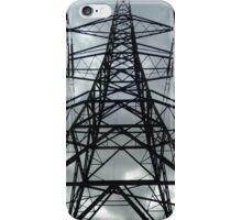 Power pylon iPhone Case/Skin