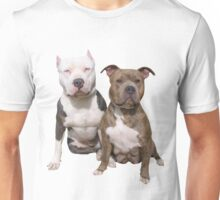 PITBULL BUDDIES  Unisex T-Shirt