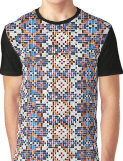 Persian Paper Pattern - Tiles Graphic T-Shirt