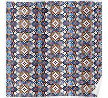 Persian Paper Pattern - Tiles Poster