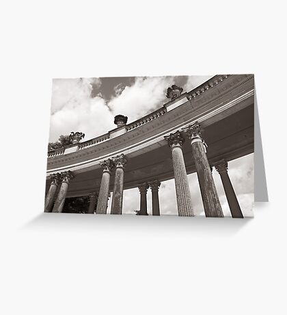 Colonnade I Greeting Card