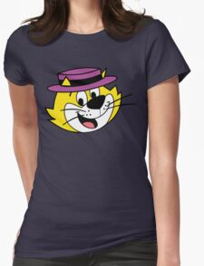 He's the most tip top, Top Cat! Womens Fitted T-Shirt