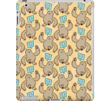 Sloth Kill Chu iPad Case/Skin