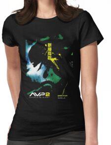 Alien Vs. Predator 2 Japan Poster Womens Fitted T-Shirt