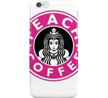 PEACH COFFEE iPhone Case/Skin