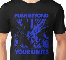 dragon ball majin vegeta push beyond your limits Unisex T-Shirt