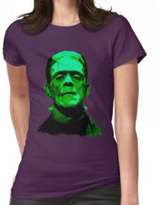 Frankenstein Womens Fitted T-Shirt