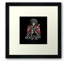 Heavy Metal Football Framed Print
