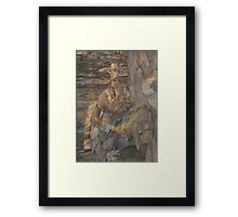 Bark, After Dobell Framed Print