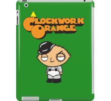 orange clockwork Family Guy iPad Case/Skin