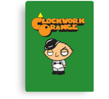 orange clockwork Family Guy Canvas Print