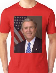 George W Bush American President Unisex T-Shirt