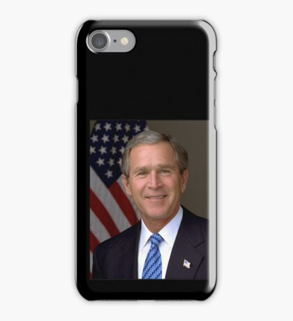 George W Bush American President iPhone Case/Skin