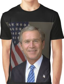 George W Bush American President Graphic T-Shirt