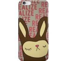 Real eyes... Realize... Real lies... iPhone Case/Skin
