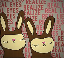 Real eyes... Realize... Real lies... by buyart