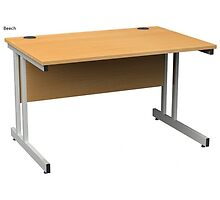 19% off on Momento Rectangular Office Desk by atlantisofficee