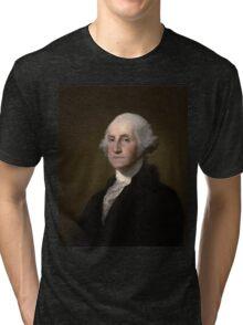 George Washington American President Tri-blend T-Shirt