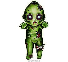 Zombie Kewpie Photographic Print