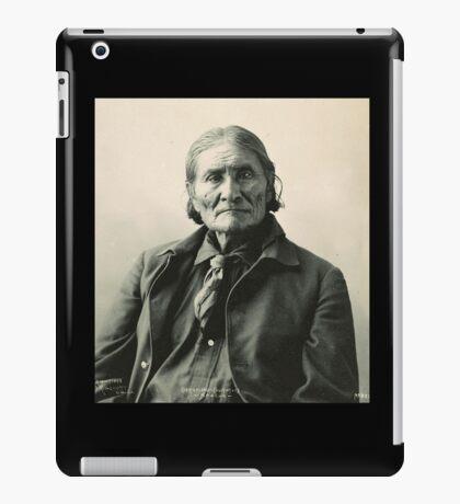 Geronimo Native American Tribe Leader iPad Case/Skin