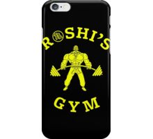 ROSHI'S GYM iPhone Case/Skin