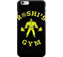 ROSHI'S GYM iPhone Case/Skin