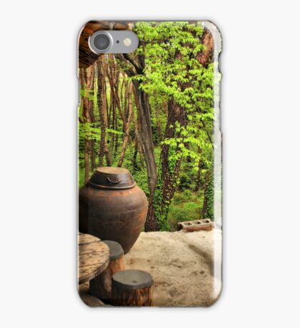 Front Porch, Korean Style iPhone Case/Skin