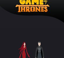 Stannis Baratheon & Melisandre (Game Of Thrones) by SmArtex