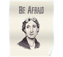Be Afraid Poster
