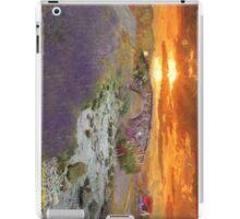 English Countryside Sunset Impressionist iPad Case/Skin