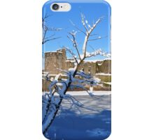 Christmas Castle iPhone Case/Skin