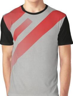 Red cement gradient Graphic T-Shirt