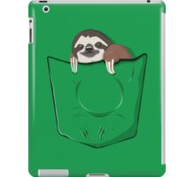 Sloth in a pocket iPad Case/Skin