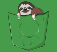 Sloth in a pocket by SxedioStudio