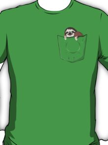 Sloth in a pocket T-Shirt