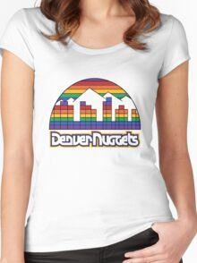 old denver Women's Fitted Scoop T-Shirt
