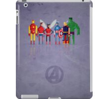 8-Bit Marvels Avengers iPad Case/Skin